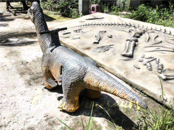 Theme Park Brachiosaurus Dinosaur you can Ride3