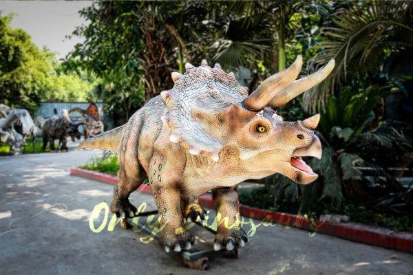 Vivid Exhibit Dinosaur Animatronics Triceratops1