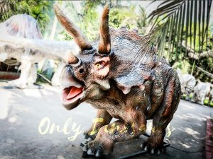 Vivid Exhibit Dinosaur Animatronics Triceratops