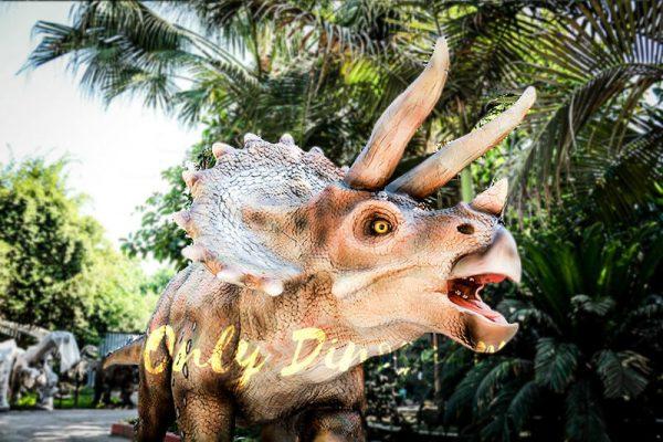 Vivid Exhibit Dinosaur Animatronics Triceratops6