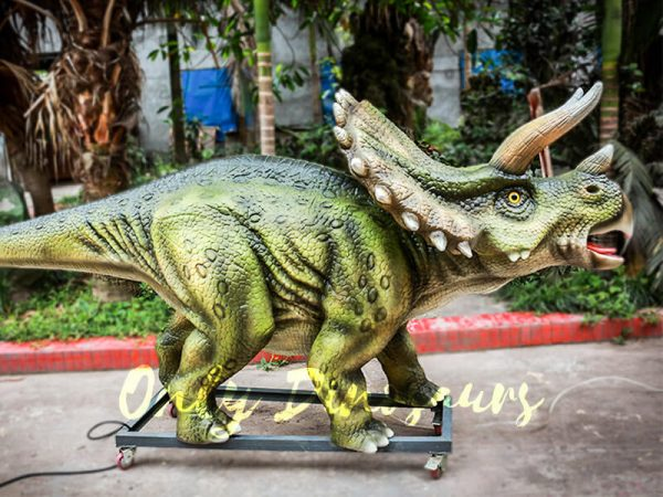 Animatronic Dinosaur Show Lifelike Triceratops1