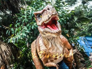 Animatronic T rex Costume for Performance