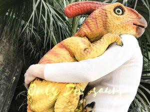 Baby Dinosaur Puppet Parasaurolophus for Baby