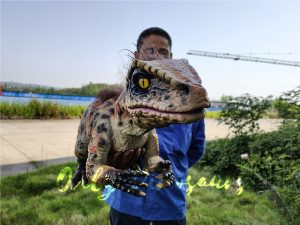 Baby Raptor Pantherine False Hand Puppet