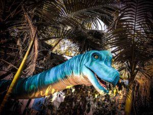 Brachiosaurus Long Neck Puppet Lifelike Prop