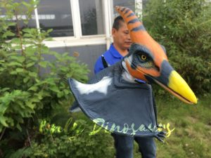 Colorful Animatronic Pterosaur Puppets for sale