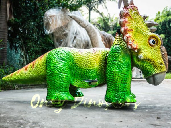 Custom Chinese Dinosaur Kiddie Rides2