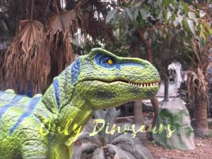 Dinosaur Realistic Costume of Green T rex