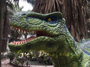 Dinosaur Realistic Costume of Green T rex