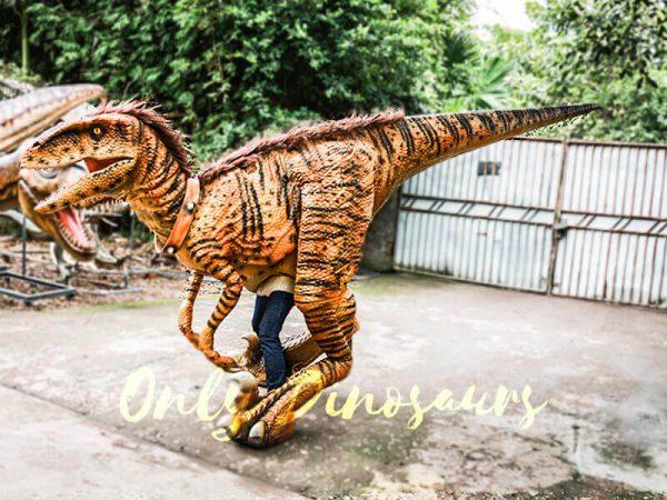 Jurassic Park Dino Costume Hairy Raptor2