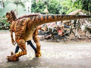 Jurassic Park Dino Costume Hairy Raptor