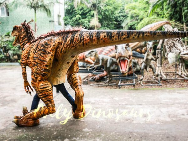 Jurassic Park Dino Costume Hairy Raptor3