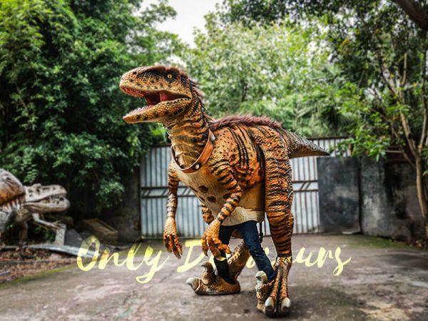Jurassic Park Dino Costume Hairy Raptor5