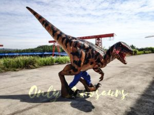 Jurassic Park Raptor Costume for Actor