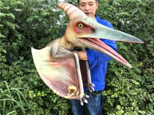 Lifelike Puppet Pterodactyl for Christmas