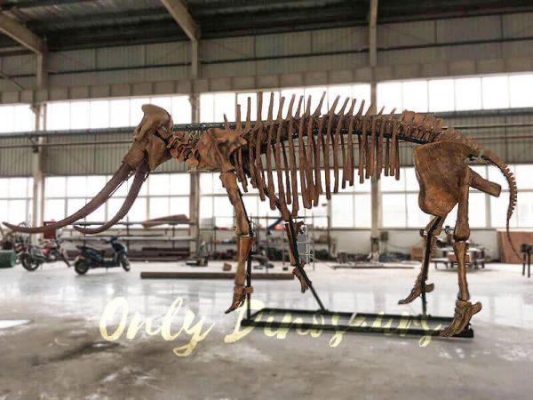 Lifesize Palaeoloxodon namadicus Skeleton for Museum4