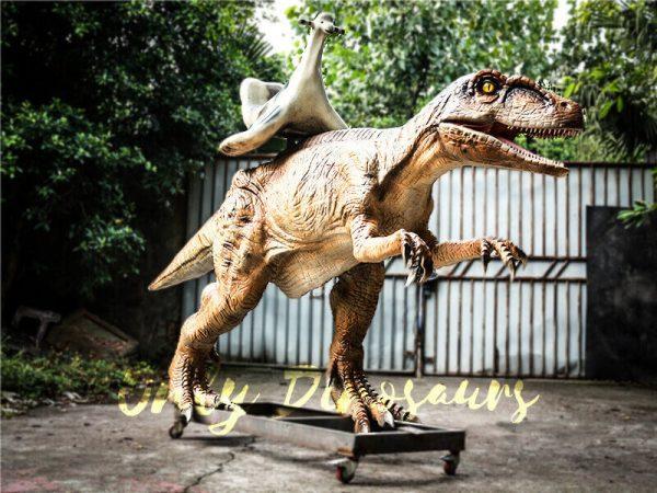 Playskool Ride on Dinosaur Velociraptor1