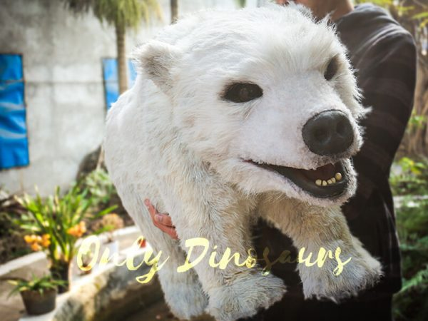 Polar Bear Baby Puppet for kids2