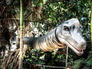 Realistic Brachiosaurus Dinosaur Head Prop