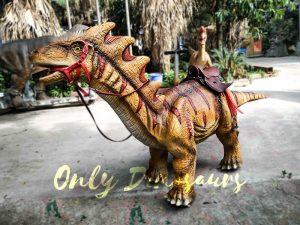 Ride an Amargasaurus Dinosaur coin-operated