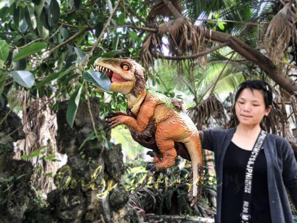 Vivid Fairy Raptor Glove Puppet Realistic4