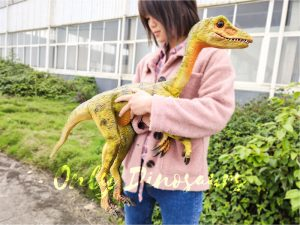 Custom Mini Compsognathus Hand Puppet