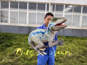 Custom Raptor Hand Puppet for Party