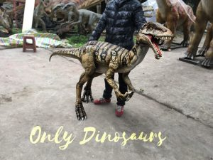 Portable Dinosaur Puppet Masiakasaurus for Actor