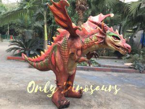 Bepoke Red Dragon Costume