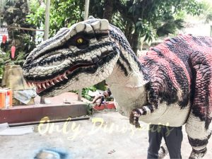 Charming Streaked T-Rex Costume for Stage Show
