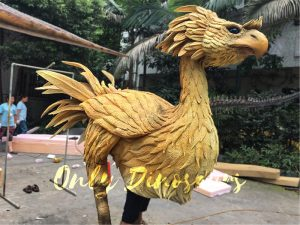Final Fantasy Realistic Chocobo Costume
