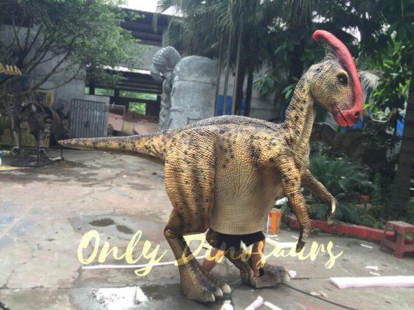Impressive-Walking-Parasaurolophus-Costume3