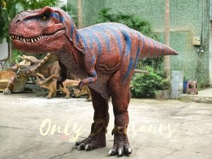 Giant Intimidating T-Rex Costume with stilts