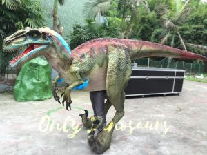 Jurassic Park Emulational Walking Velociraptor Costume