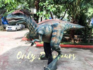 Jurassic Park Feathered Velociraptor Costume