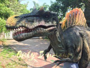 Lifelike Adult Spinosaurus Costume in Jurassic Park