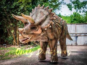Two-person Spotted Triceratops Costume