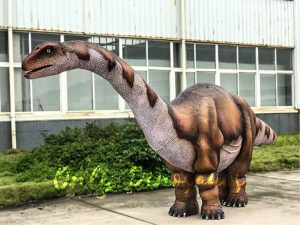 Vivid Two-person Apatosaurus Costume For Stage Show