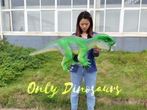 Green Iguanodon Dino Hand Puppet