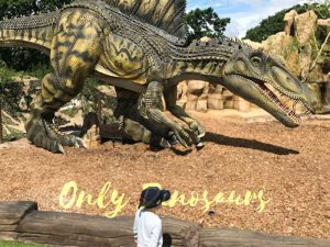 15 Meters Long Lifesize Animatronic Spinosaurus