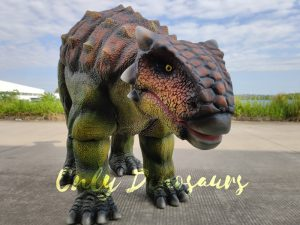 Vivid Single-man Ankylosaurus Costume for Actor