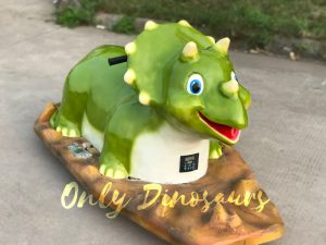 Fantastic Triceratops Kids Ride For Playground