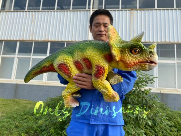 Red-Dot-Cute-Triceratops-Baby-Puppet2