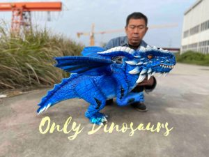 Affordable Custom Winged Dragon Hand Puppet