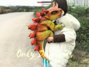Attractive Baby Gloves Stegosaurus For Kids