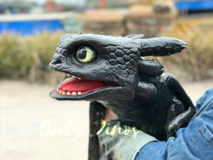 Cute Toothless Dragon Puppet