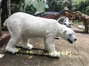 Engaging Animatronic Animal Polar Bear for Exhibition