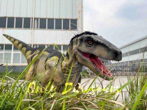 Hidden Legs Velociraptor Suit for Dinosaur Event