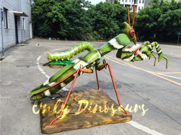 Lifelike-Animatronic-Giant-Insects-Mantis-for-Sale5