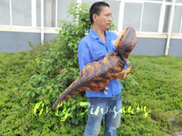 Lifelike-Customizable-Baby-Raptor-Dinosaur-Hand-Puppet5